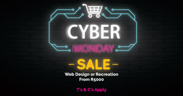Cyber Monday – END THIS YEAR WITH A BANG!