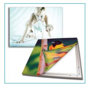 Fabric Stretch Frame 35mm (Single Sided)